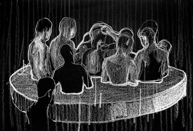 , 'Le rituel II,' 2018-2019, L'Atelier 21