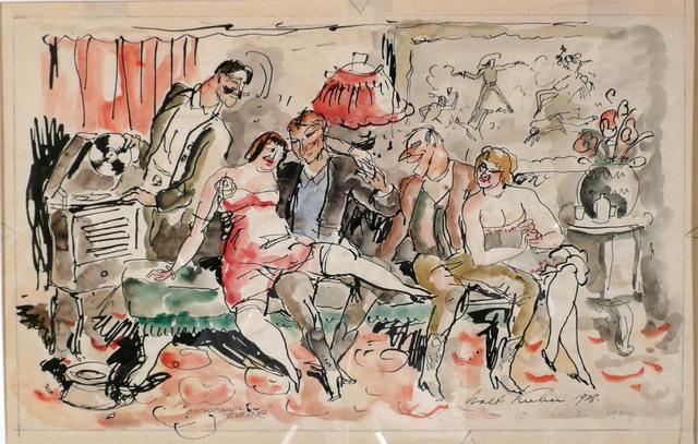 Walt Kuhn, 'ORTHOPHONIC EVENING', 1928, Edward T. Pollack Fine Arts