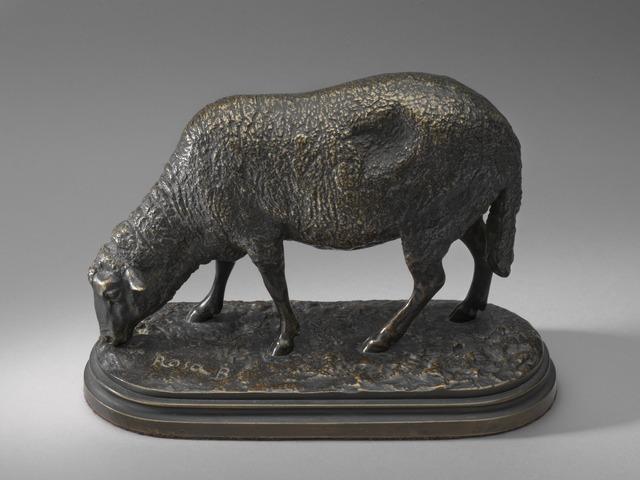 Rosa Bonheur, 'Ewe, or A Grazing Sheep', model second half 19th century, Sculpture, Bronze, National Gallery of Art, Washington, D.C.