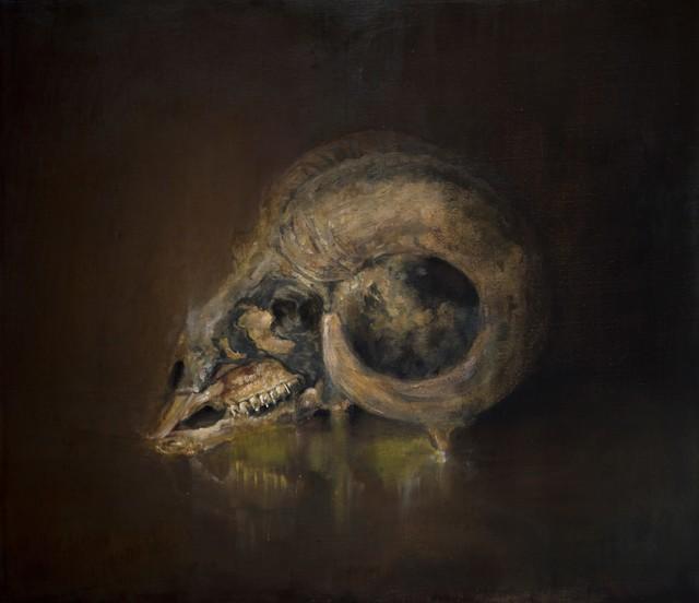 Jesse Nickell, 'Goat Skull', 2018, design art concepts