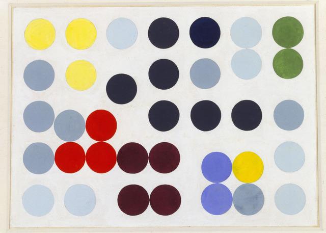 , 'Komposition mit Kreisen,' 1934-1938, Keitelman Gallery