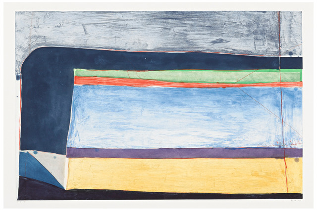 Richard Diebenkorn, 'Indigo Horizontal', 1985, William Shearburn Gallery