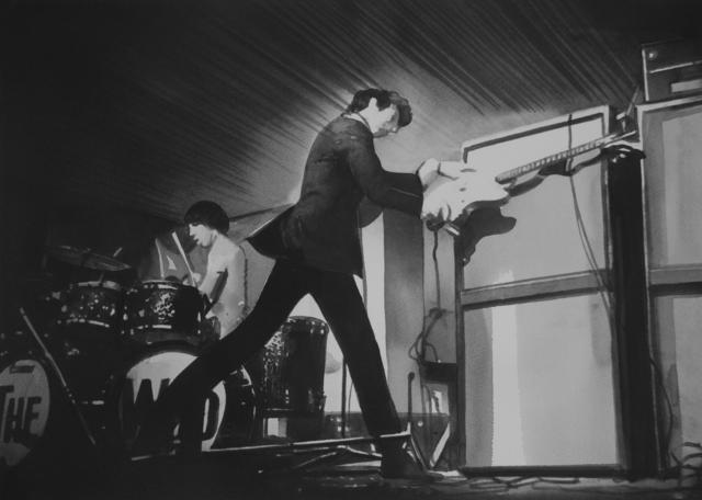 Radenko Milak, 'Pete Townshend destroys guitar (#11)', 2018, PRISKA PASQUER