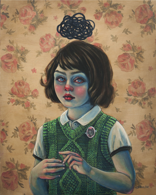 , 'Little Trouble Girl,' 2018, Haven Gallery