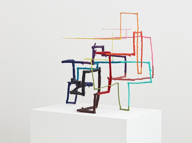 , 'Anagram of a Ritual Device,' 2017, David Kordansky Gallery
