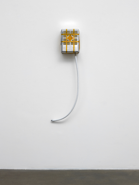 , 'Unlucky for some is the mother of invention (mailbox),' 2013, David Kordansky Gallery