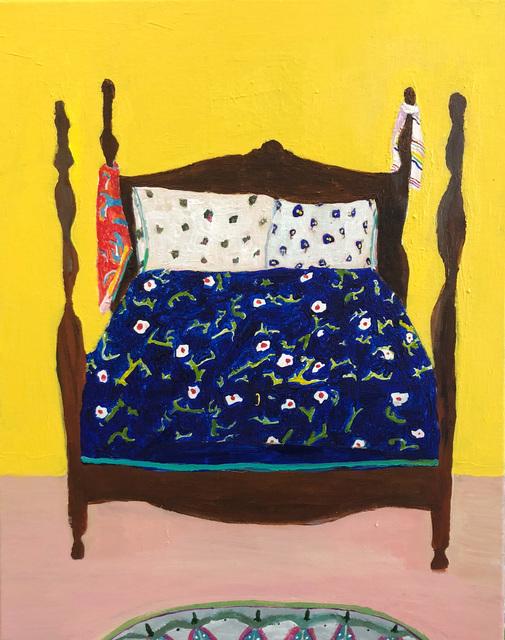 , 'Big Wood Bed,' 2018, Tillou Fine Art