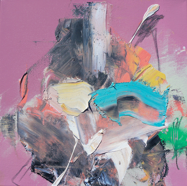 ", '""energy study"" (pink),' 2016, Mugello Gallery"