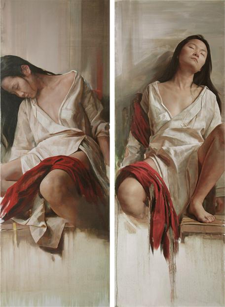 , 'Silence II No.1,2,' 2011, Galerie du Monde