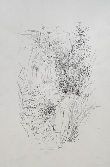 , 'jeunes filles en fleurs,' 2018, Galerie Heike Strelow