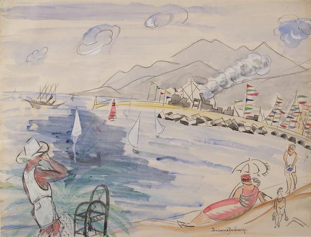 , 'Untitled (Beach Scene),' ca. 1930, Francis M. Naumann Fine Art