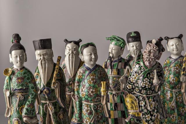 , 'Baxian,' China, Kangxi period (1662, 1722) ca 1710, 20, Vanderven Oriental Art