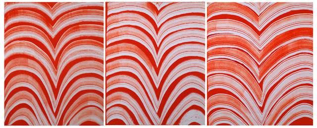 Jennifer Marshall, 'Le Poisson Rouge', 2009, Print, Monotype on linen, Jungle Press