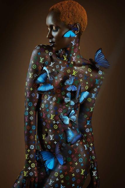 Jonas Leriche, 'Veil Of Luxury Butterflies', 2018, Ruler Art