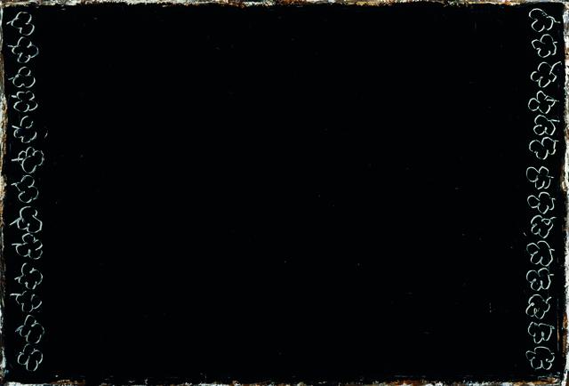 , 'Flors gravades sobre negre,' 2001, Galería Joan Prats