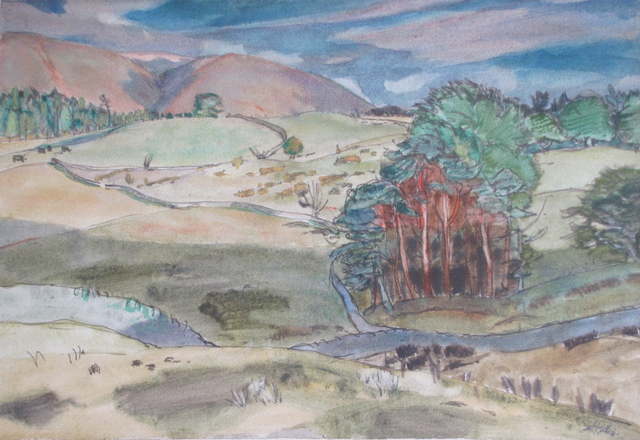 , 'Portmore,' 1964, The Scottish Gallery