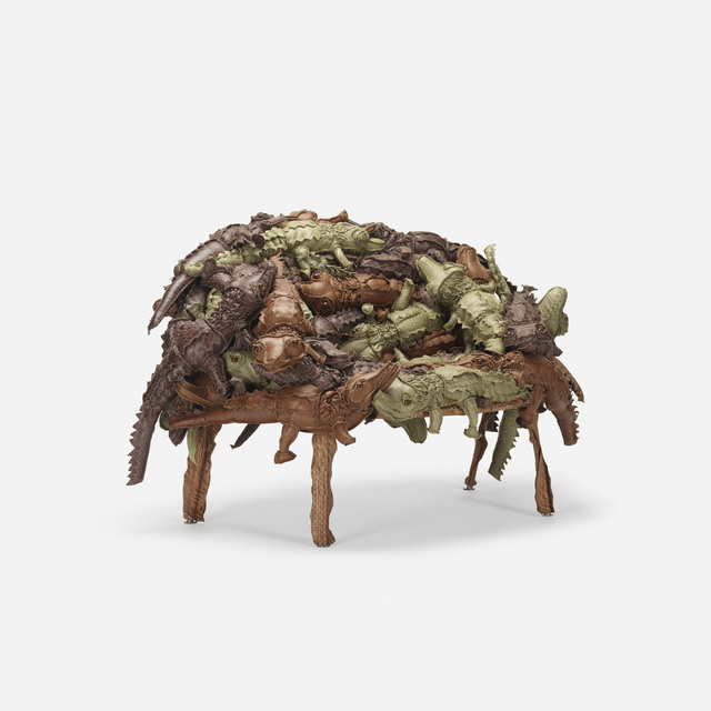Humberto and Fernando Campana, 'Alligator Banquete in Leather', 2011, Wright