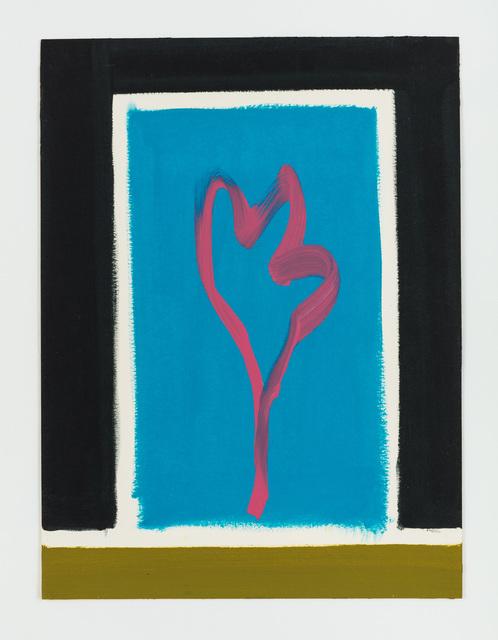 , 'Untitled (Rote Blume),' 2014, Rachel Uffner Gallery