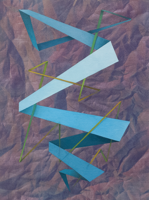 , 'Not A Straight Line, But A Zig Zag,' 2016, Fort Worth Contemporary Arts