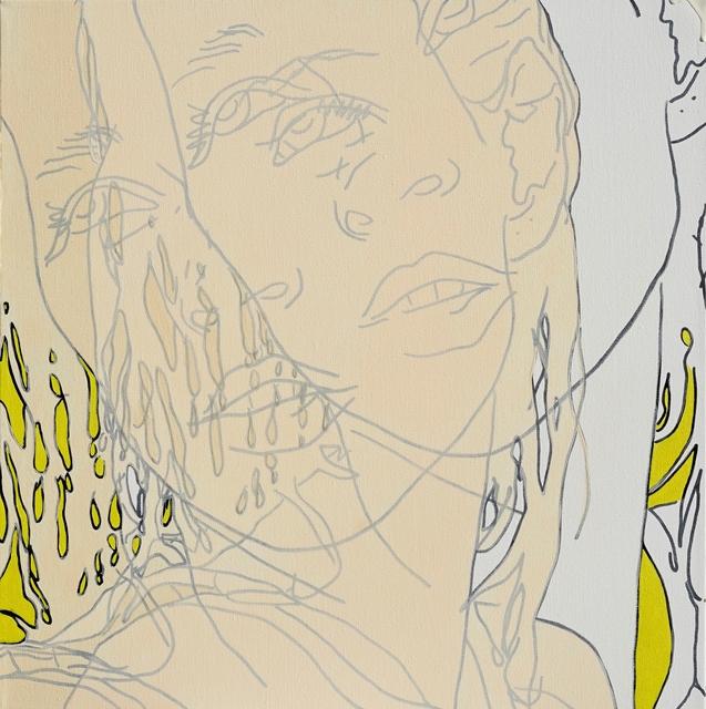 , 'Apricot, Unbleached Titanium, Yellow,' 2015, Artspace Warehouse