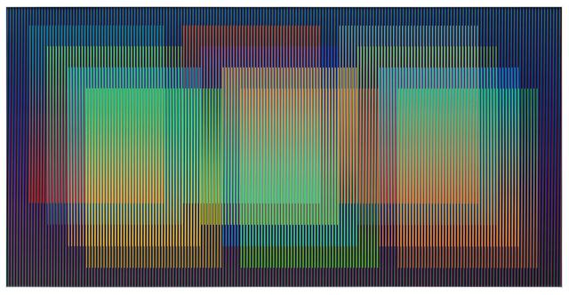, 'Color Aditivo XX,' 2018, Galería RGR
