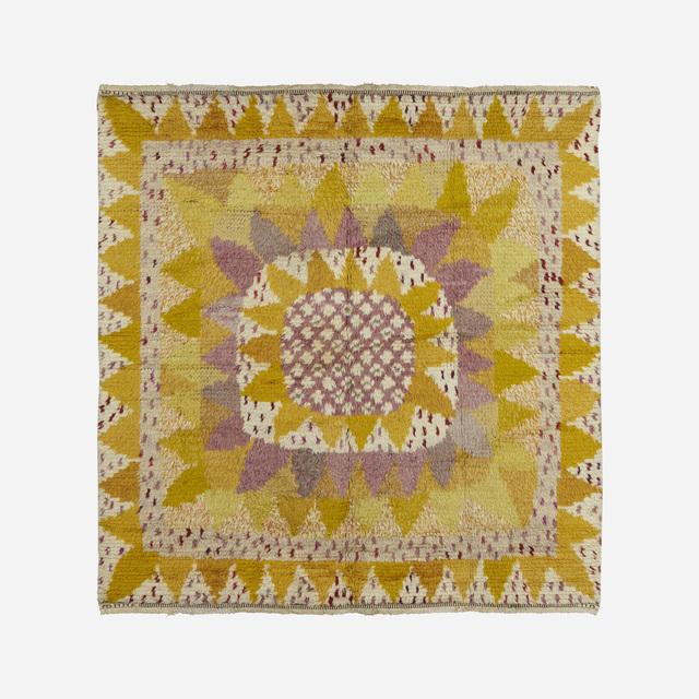 Marianne Richter, 'Solrosen pile carpet', 1948, Wright