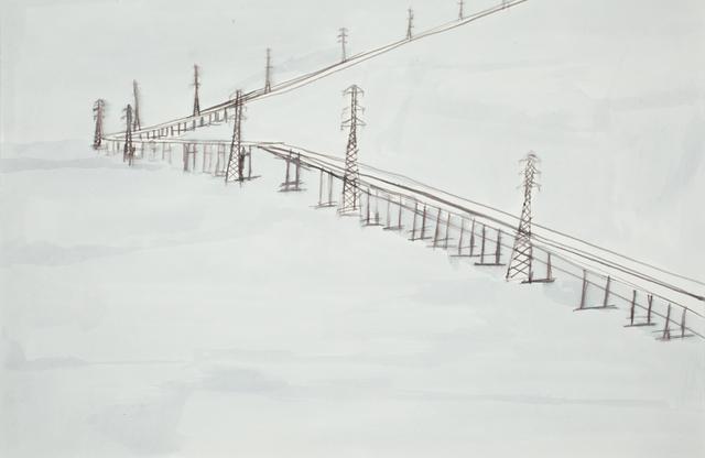 , 'San Mateo Bridge Landscape,' 2010, Creativity Explored