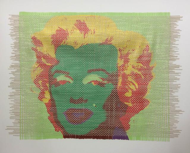 , 'Bild-Textverwebung - Marilyn / Arthur Miller V,' 2014, Mario Mauroner Contemporary Art Salzburg-Vienna