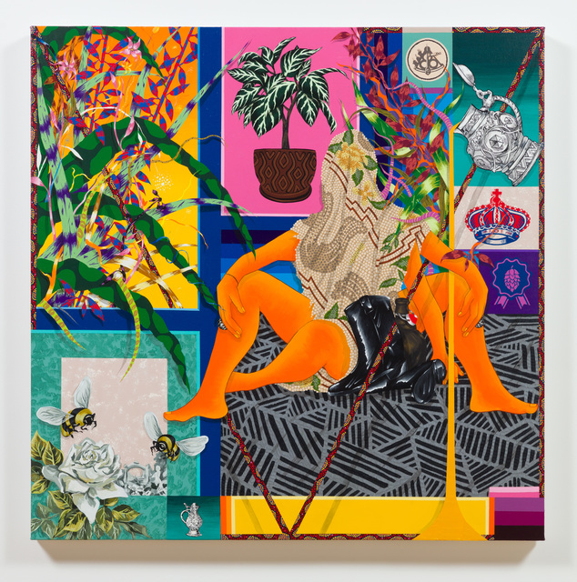 , 'Honeysuckle,' 2018, Shulamit Nazarian