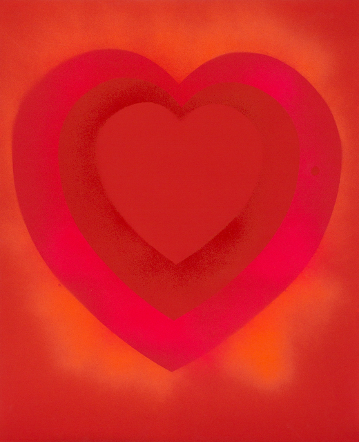 , 'Untitled (Heart Painting),' 1959, Berry Campbell Gallery