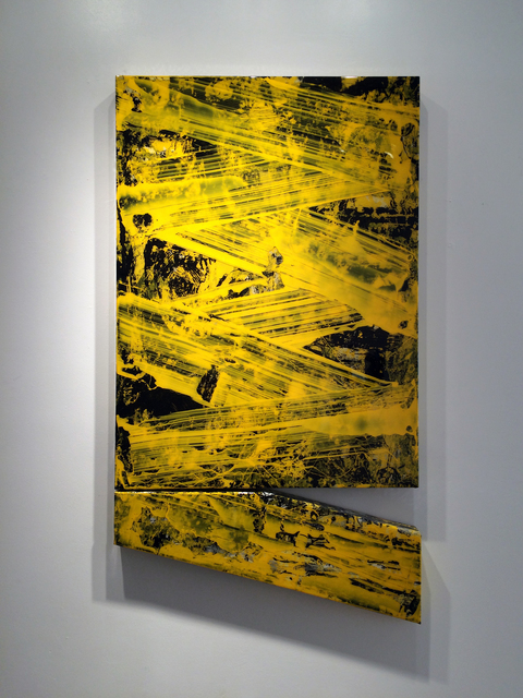 , 'Wall Vessel 4 (Yellow and Black),' 2016, Galerie Olivier Waltman | Waltman Ortega Fine Art