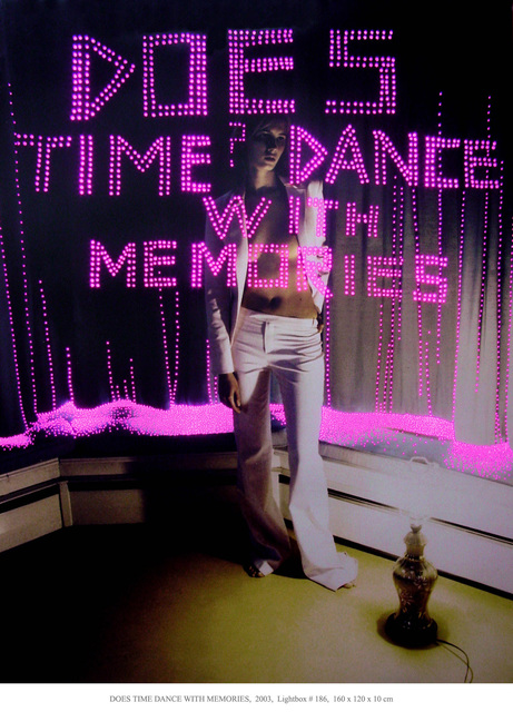 Daniele Buetti, 'Does time dance with memories', 2003, Installation, Mario Mauroner Contemporary Art Salzburg-Vienna