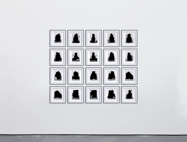 , 'Grain Elevators,' 2016, Max Estrella