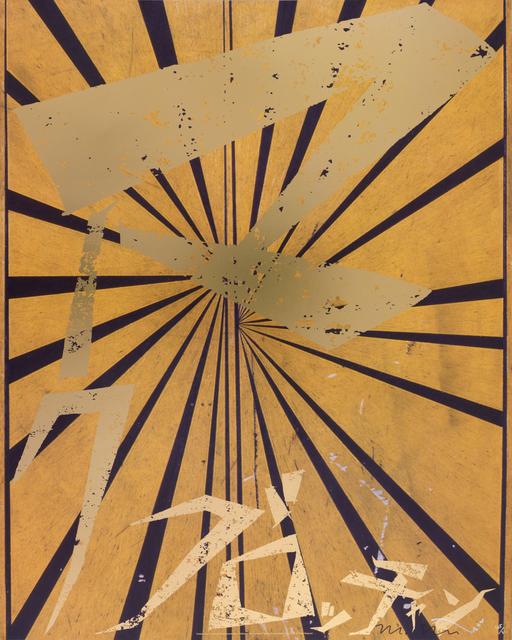 Takashi Murakami, 'Untitled (Canary Yellow and Black Butterfiy 830)', 2010, Gagosian