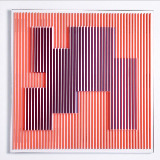 , 'Orange Molecule 1,' 2018, Contempop Gallery