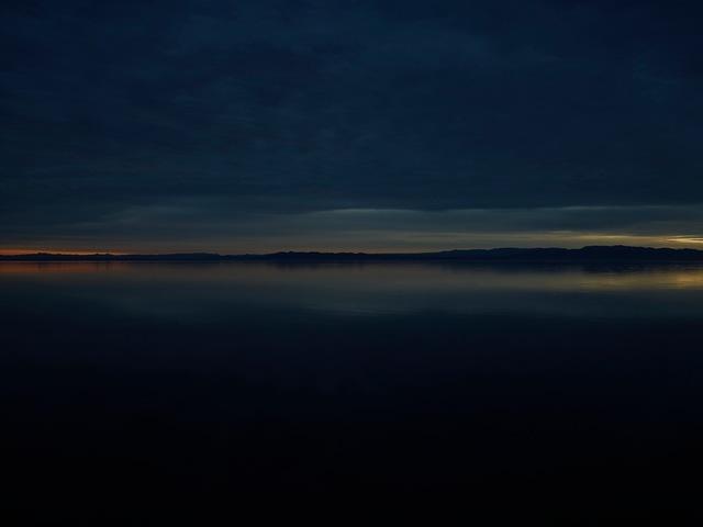 , 'Salton Sea (Dusk),' 2009, Pace/MacGill Gallery