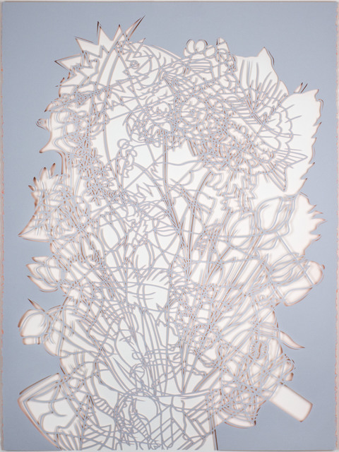 , 'Untitled (Grey and Orange Cut-Out),' 2016, HATHAWAY | Contemporary Gallery