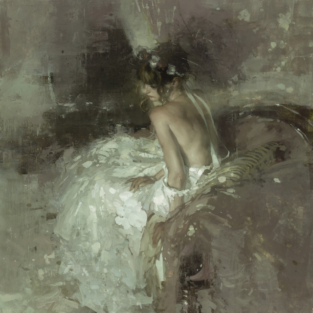Jeremy Mann, 'The Hollowed Heart', 2019, Painting, Oil on Panel, Maxwell Alexander Gallery