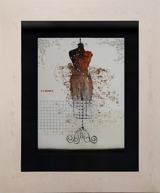 , 'Mi pintura vestida de mujer III,' 2017, Lux Perpetua Art Centre