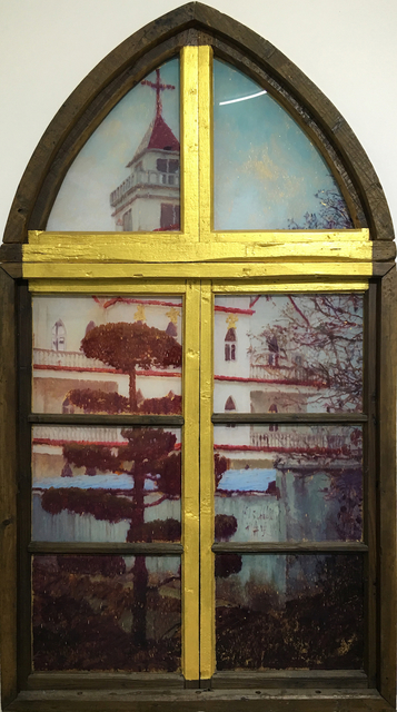 , 'Neighbor's Window · Rural Church,' 2016, Leo Xu Projects