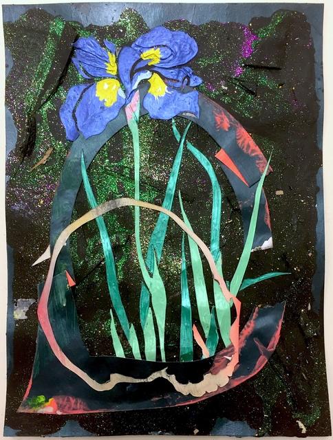 , 'Post mortem vanitas (iris met schedel en hoepels),' 2018, Galerie Bart
