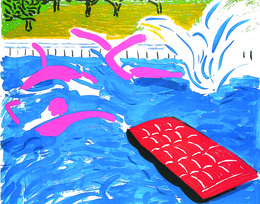 , 'Afternoon Swimming,' 1979, Sims Reed Gallery