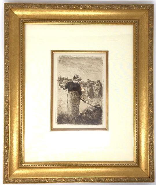 Camille Pissarro, 'Les Faneuses (Haymakers)', Delteil 94-c. 1890, Acquisitions Of Fine Art