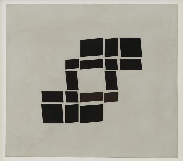 , 'Metaesquema MET055,' 1957, Galeria Luisa Strina