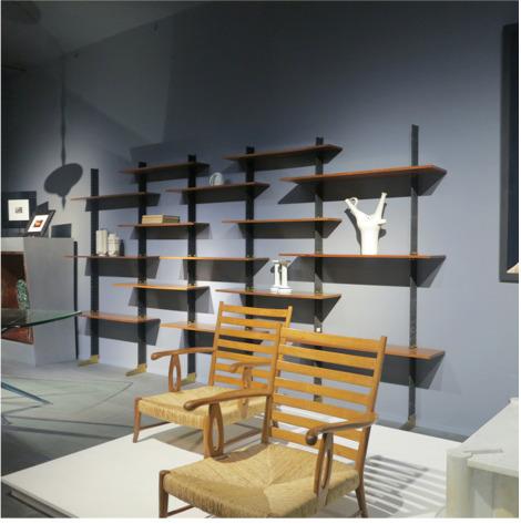 , 'Modular bookcase - Lib 2,' 1950's, Galleria Rossella Colombari