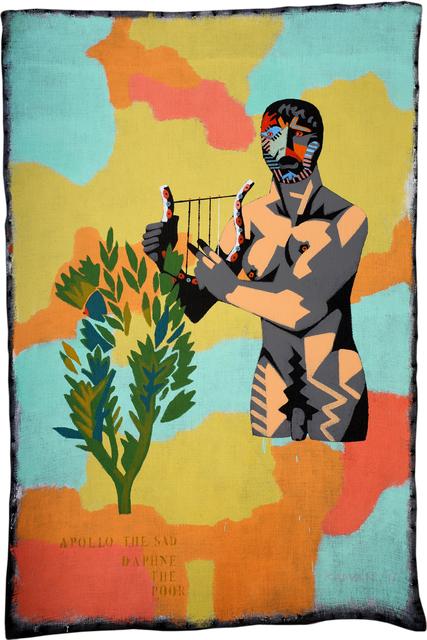 , 'Apollo the Sad, Daphne the Poor,' 2017, Anaid Art