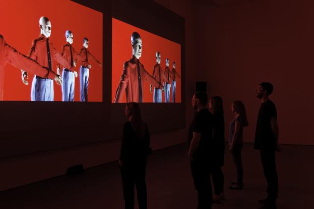 , '3-D Video-Installation – 1 2 3 4 5 6 7 8, Installation View Sprüth Magers Berlin,' 2013, Sprüth Magers