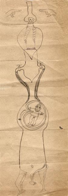 , 'Hedda Sterne, Jules Perahim, Medi Wechsler Dinu, Cadavre exquis 252,' 1930-1932, Nasui Collection & Gallery