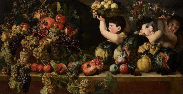 , 'Still Life of Fruit with Three Figures of Children (Allegory of Autumn),' , Robilant + Voena