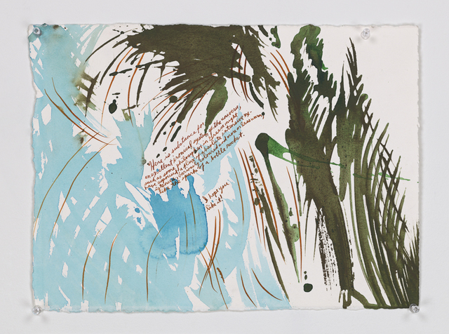 Raymond Pettibon, 'No Title (Here is substance...)', 2000, David Zwirner